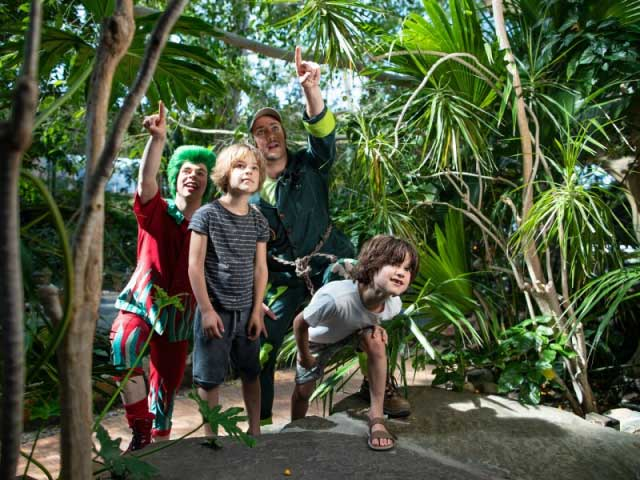 Beleef leuke activiteiten in Center Parcs de Haan, zoals een zoektocht in de tropische Market Dome. Bekijk bijvoorbeeld tropische vogels!