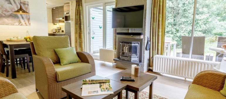 Vernieuwde cottages Limburgse Peel