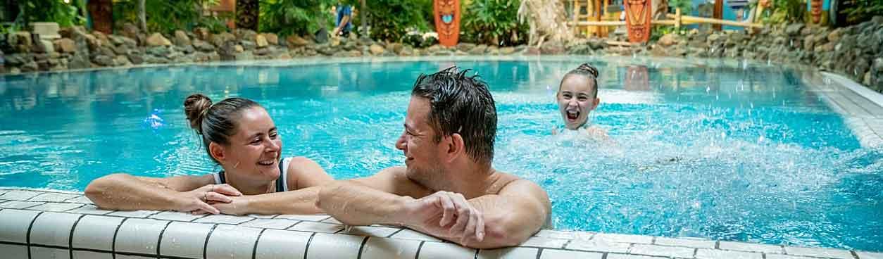 Subtropisch zwemplezier tijdens Pinksteren