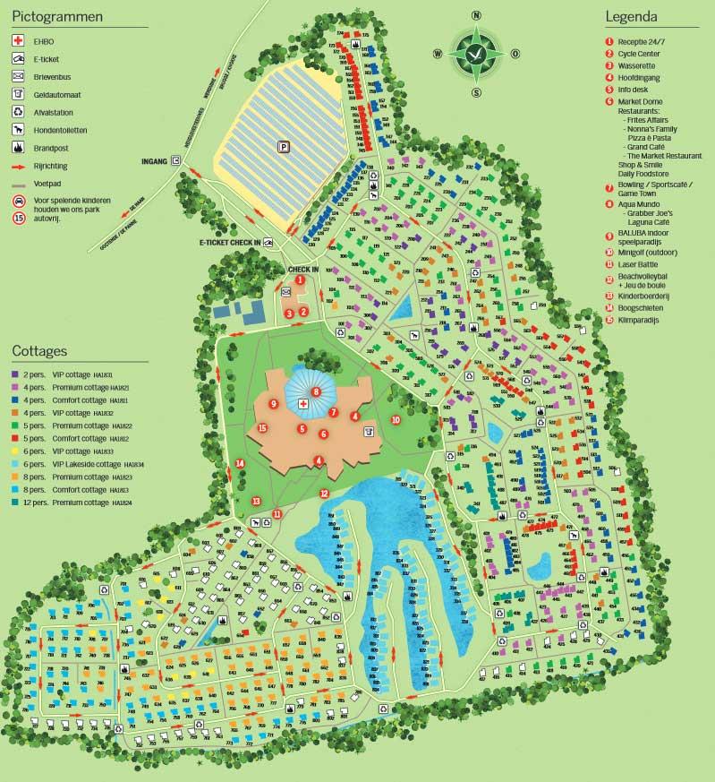 Plattegrond Center Parcs De Haan PDF