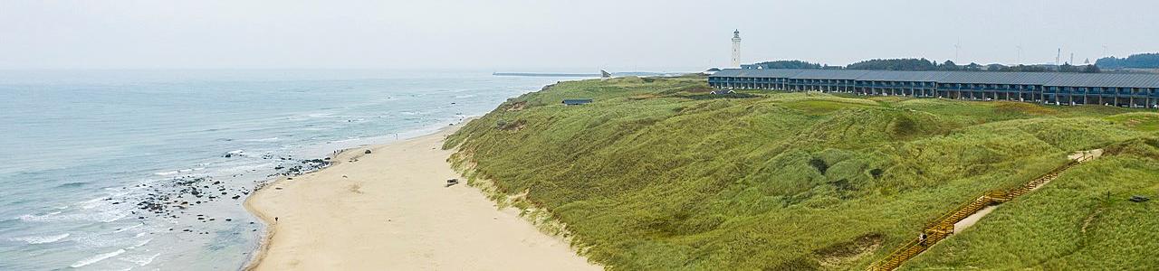 Landal Fyrklit: Mooi gelegen midden in de duinen met prachtig uitzicht op zee