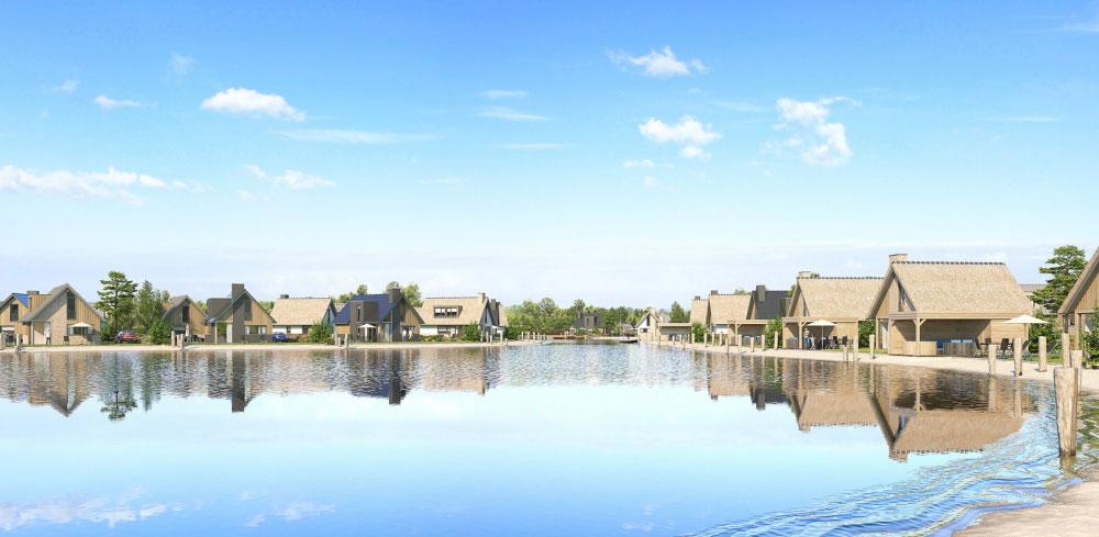 Vakantiewoningen gelegen aan het water bij Landal Drentse Lagune