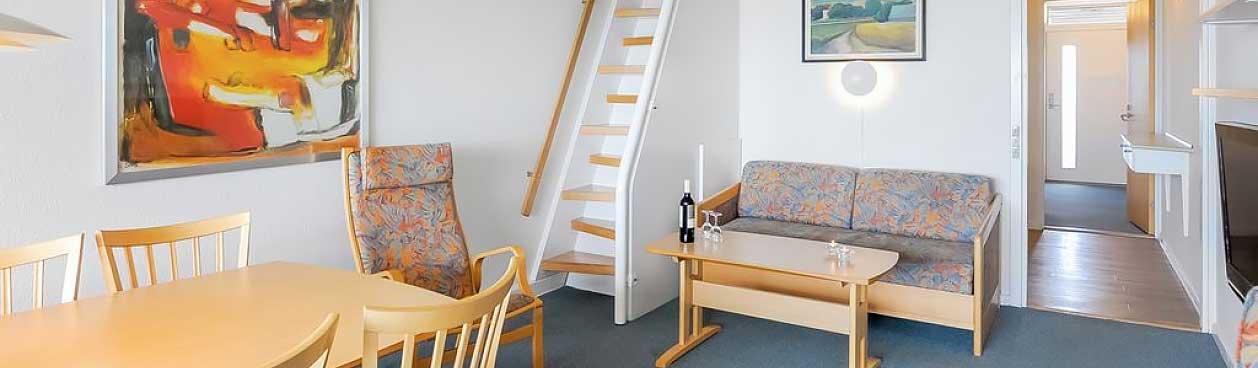 Standaard appartementen bij Landal Fyrklit