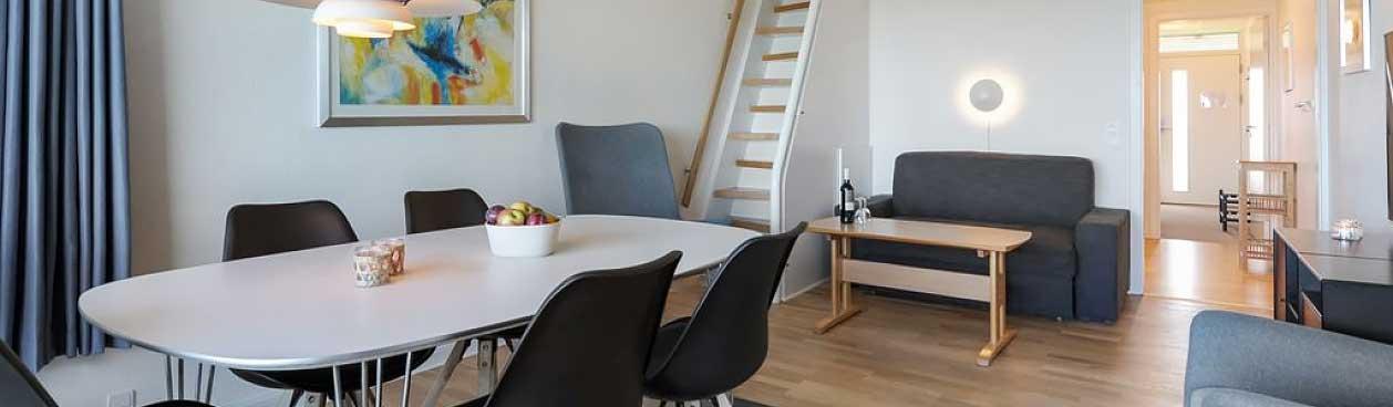 Vernieuwd appartementen bij Landal Fyrklit