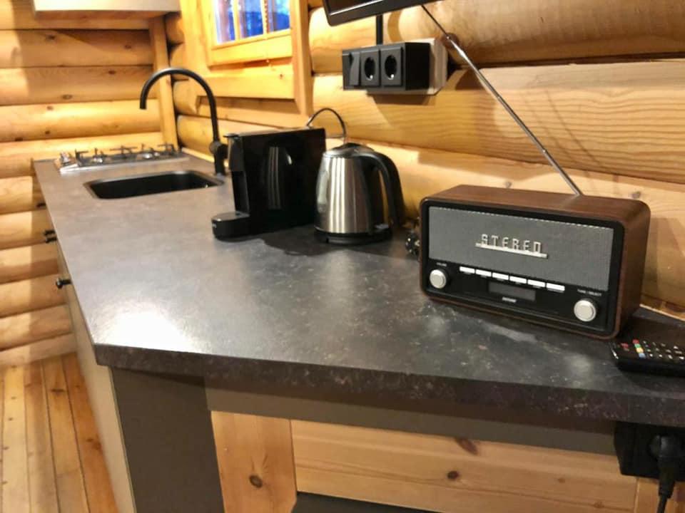 Keuken in de nieuwe situatie - Bron: facebook.com/LandalDucDeBrabant